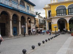 Plaza Vieja, Kuba, Havanna, Kolonialbauten