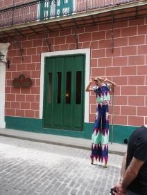 Havanna, Kuba, Straßenkünstler, Clown