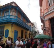 Havanna, Kuba, Straßen, Touristen, Altstadt, Sehenswürdigkeit