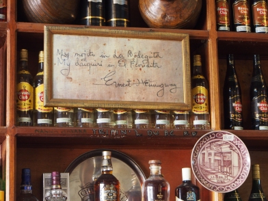Hemingway, Kuba, Havanna, Mojito, Bodeguita del medio