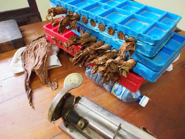 Handarbeit, Zigarren, drehen, pressen, Kuba
