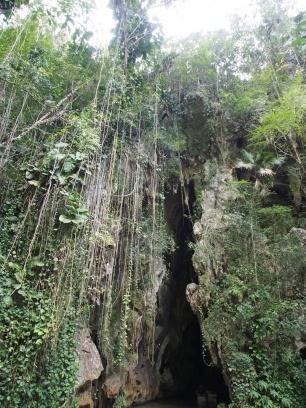 Felsspalte, Felsöffnung, Höhle, Cueva del Indio, Kuba
