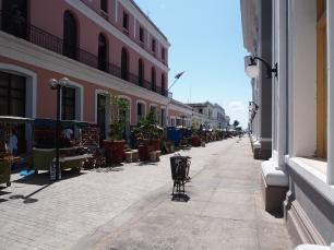 Ladenstraße, Cienfuegos, Kuba,