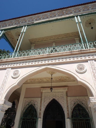 Palacio de Valle, Cienfuegos, Kuba, Baumaße, Baukunst, Bauelement, spanisch, arabisch