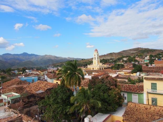 Trinidad, Kuba, Ausblick, Berge, Dächer