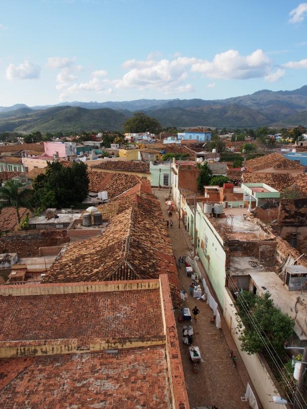 Malerisch, Gasse, Trinidad, Kuba