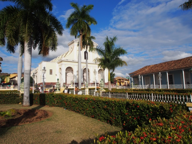 Plaza Mayor, Trinidad, Kuba