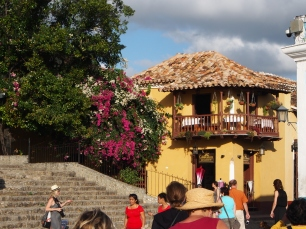 Trinidad, bunt, Häuser, Kolonial, spanisch, Sehenswürdigekti, Baustil, Kuba