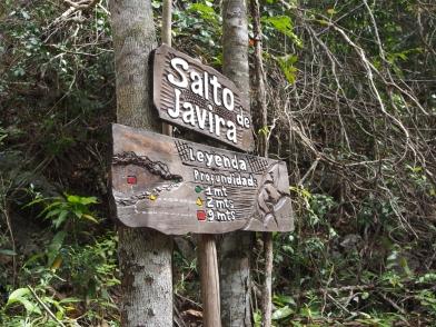 Salto de Javira, Kuba