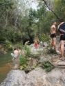 Baden, Wasserfall, Kuba, Wanderung