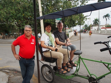 Fahrradtaxi, Camagüey, Kuba