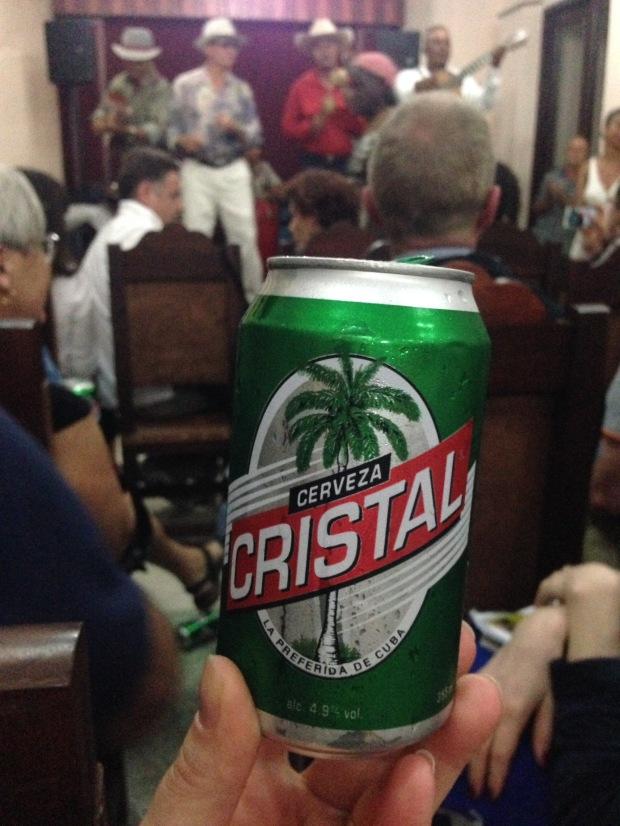 Bier, Kuba, Cristal, Lager, Pils