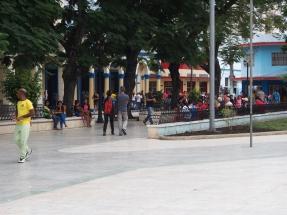 Bayamo, hauptplatz, Kuba