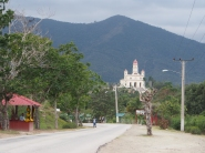 Cachita, Blumen, gelb, Blumenstand, Blumenverkäufer, Kuba, El Cobre