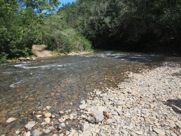 Fluss, Überquerung, Kuba, Nationalpark, Humboldt