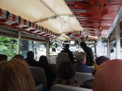 Ride the Duck, Seattle, Amphibienfahrzeug, Seattle, Washington, Skyline, USA, reisen, Wochenendtrip, Wochenendausflug, Ausflug, Kurztrip, Ausflugsziel, Sightseeing, Sehenswürdigkeiten, Besichtigung, Sehenswert, Stadtrundfahrt, Stadtbesichtigung