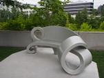 Bank, Olympic Sculpture Park, Seattle, USA, Ausflug, Wochenendtrip, Erholung
