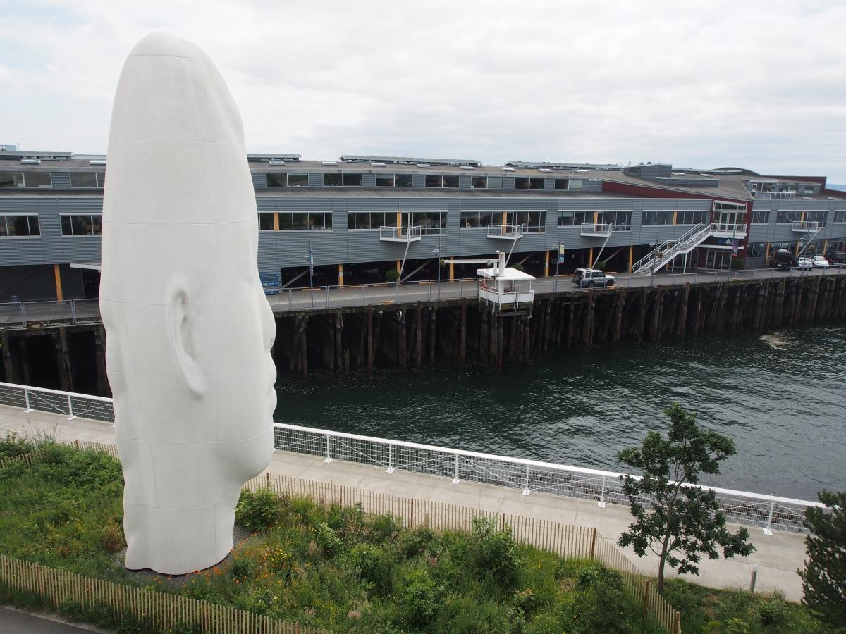 Statue, Olympic Sculpture Park, Seattle, Kunst, Kultur,
