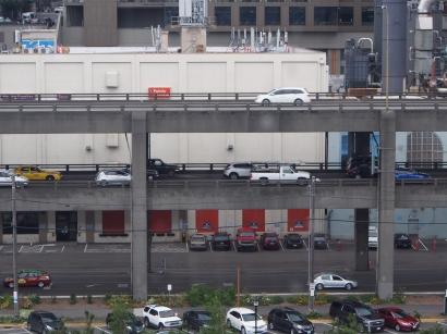 Etagen, Straßenbrücke, mehrstöckig, Straße, Stockwerke, Seattle