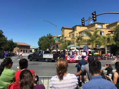 Independence Day, Feierlichkeiten, Parade, Straßendekoration, Amerika, USA, Unabhängigkeitstag, 4. Juli, 4th of July, 4th July, Auswandern, Auswanderung, Feiertage, amerikanische
