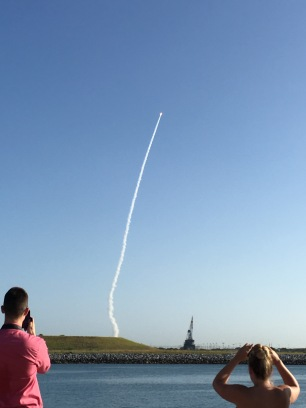 Rocket Launch, Raketen Abschuss, Florida, Satellite, Satellitenabschuss, Cape Canaveral, Kennedy Space Center, Ausflug, Ausflugsziel, Wochenendtrip, USA, Kurztrip, Reise