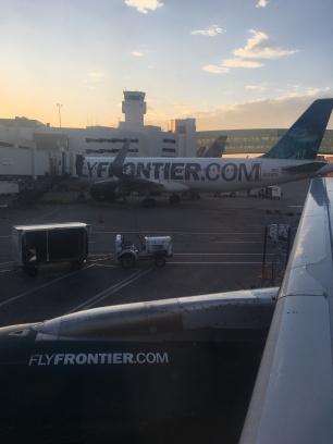Flugzeug, Amerika, Denver, Colorado, Flughafen, Airport, Flugplatz, fliegen