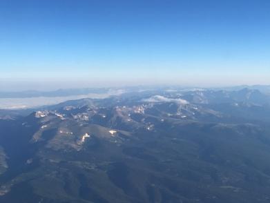Rocky Mountains, Flugzeug, Colorado