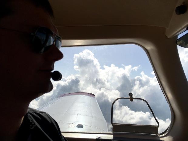 Florida, Florida Keys, Key West, fliegen, selber fliegen, Privatpilot, PPL, VFR, IFR, Piper, Privatflieger, Ausflug, Ausflugsziel, Wochenendausflug, Wochenendtrip, Sehenswürdigkeit, Sehenswert, Touristenattraktion, Wolken, Gewitter,