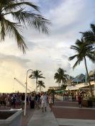 Florida, Key West, Florida Keys, Amerika, USA, reisen, Reise, Ausflug, Ausflugsziel, Wochenendausflug, Wochenendtrip, Ausflugsziel, Fliegen, Flieger-Ausflug, Flieger, Pilot, selber fliegen, Privatpilot, Insel, Karibik, Sonnenuntergang, Mallory Square, Sunset Celebration, Sonnenuntergang, Feierlichkeit