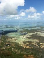 Florida, Keys, türkis, Wasser, Meer, Land, Cockpit