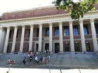 Boston, Massachusetts, Europa, europäisch, Bauweise, Baustil, Architektur, Sehenswürdigkeit, Sehenswertes, Sehenswürdigkeiten, Amerika, Harvard, Bücherei, Cambridge