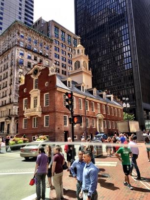 Old State house, Geschichte, Boston, Massachusetts, Sehenswürdigkeiten, Tipps, Sehenswert, Ausflug, Ausflugsziel