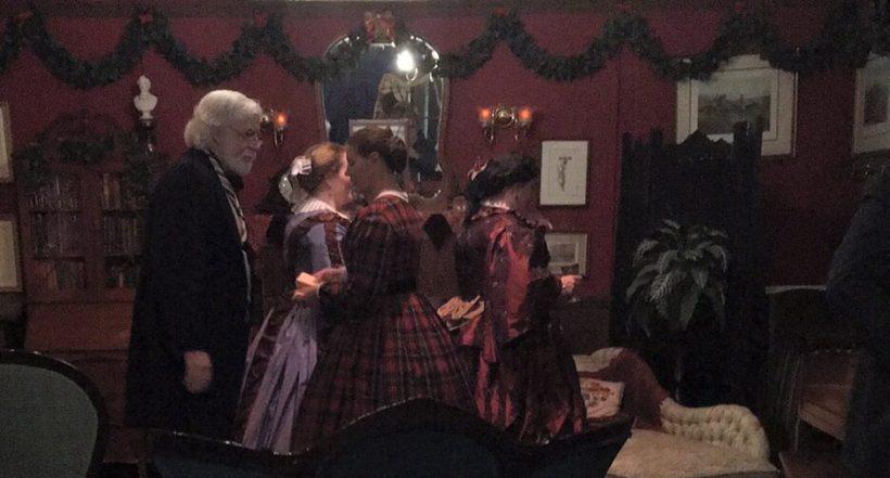 Dickens Christmas Fair, Weihnachtsmarkt, Viktorianisch, altertümlich, Amerika, englisch, britisch, Weihnachten, verkleiden, Kostüme