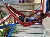 Belize, Lateinamerika, Zentralamerika, Südamerika, Einsteigerland, Anfänger, Einsteiger, Englisch, Meer, Korallenriff, Sonne, Wassersport, was erwartet mich, was kann man erwarten, reisen, reise, ausflug, Reisetipp, Zoo, Höhlen, ATM, schnorcheln, Inseln, Strand, Palmen, Caye Caulker, Meer, Reggae, Entspannung, De real Macaw, Caye Caulker, Hängematte