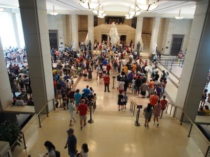 Kapitol, Capitol, Besucher, Visitor