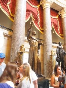 Junipero Serra, Statue, Capitol, Kapitol, Washington DC, California, Kalifornien