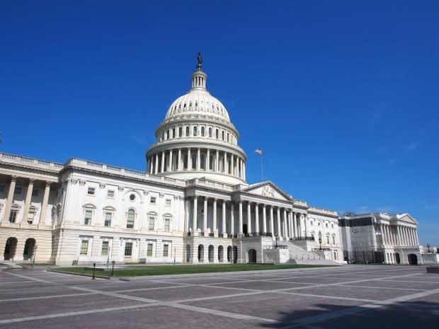 Capitol, Washington DC, Regierungssitz Amerika.