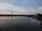 Washington Monument, Jefferson Memorial, Tidal Basin