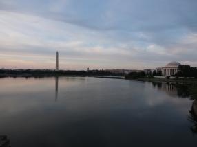 Washington Monument, Jefferson Memorial, Tidal Basin