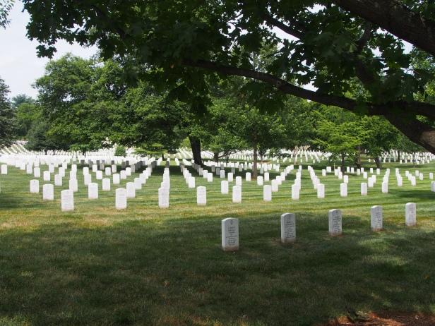 Gräber, Arlington, Friedhof.
