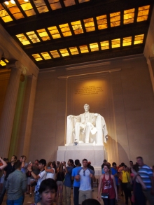 Lincoln, Statue, Memorial, Washington DC