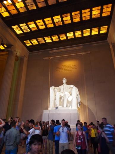 Lincoln, Statue, Memorial, Washington DC