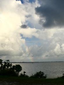 Regenbogen über dem Banana River