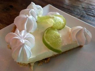 Key Lime Pie - Limettenkuchen