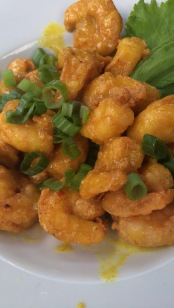 Shrimps in Curry